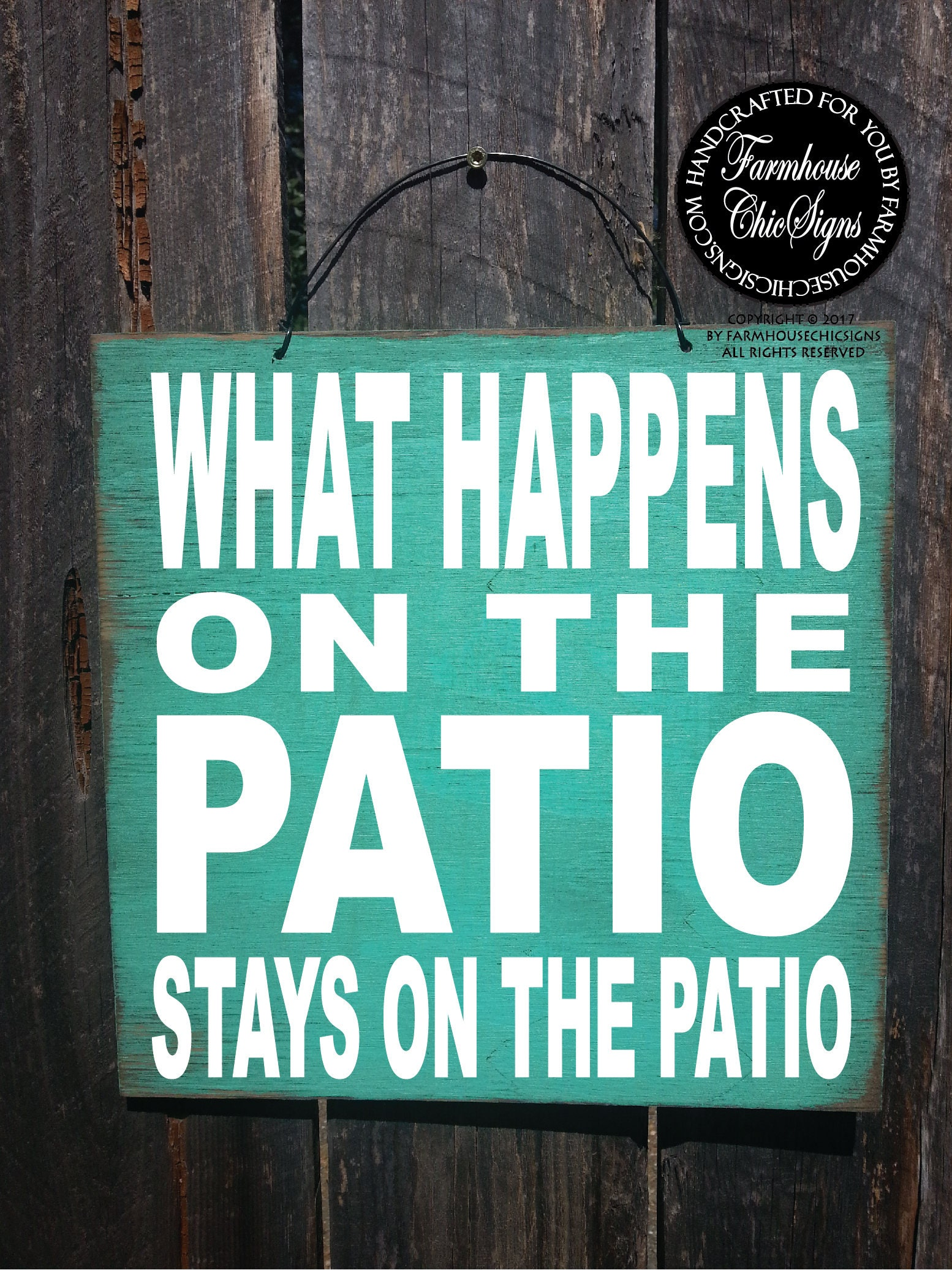 Patio Gift For Patio Funny Sign Housewarming Gift Patio