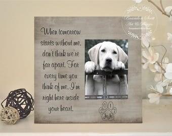 Dog sympathy gift | Etsy
