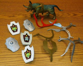 motu, masters of the universe, defenders of the universe, galaxy fighters lot