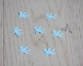 Angel shaped confetti
