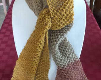For a Donation! Soft Knitted Long Scarf - See Note