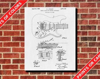 Guitar Tremolo, Musician Decor, Musician Print, Tech Decor, Guitar Poster, Guitarist Gift Living Room Decor