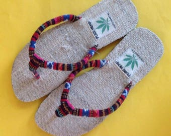 THC Free Bohemain/Gypsy  Hemp Flip Flop/Sandal