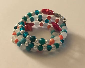 Nautical wrap bracelet