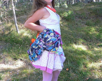 Cotton skirt for girls between 8 and 10 years old