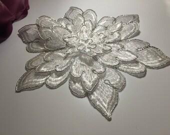 1 1 pattern wedding white guipure lace
