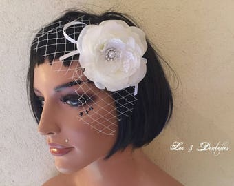 Bibi retro white lace wedding * 3 lace *.