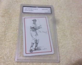 1977 Graded Stan Musial Baseball Card