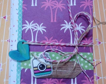 Scrapbook album Birds for 6 photos