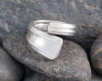 Silverware Handle Ring (Spoon Ring) Size 6 1/4 SR109