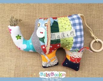 Sensory Elephant Baby Toy