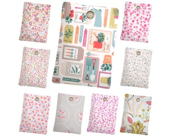 9 Floral Designs // iPad Case, iPad Mini Sleeve, Kindle Paperweight Case, Kindle Fire Sleeve, Nook Cover, Kobo Case