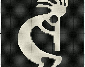 Kokopelli Needlepoint Pattern