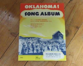 "Song album for Oscar Hammerstein's ""Oklahoma!"", 1943"
