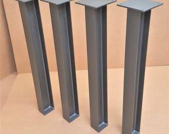 Heavy Structural I beam legs. TTI08S - Set of 6 legs.