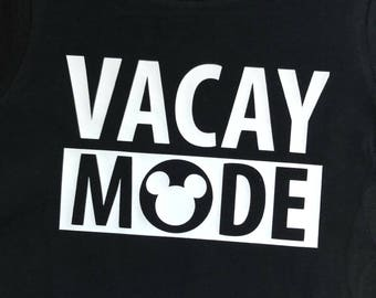 Disney Vacay Mode shirt/onesie