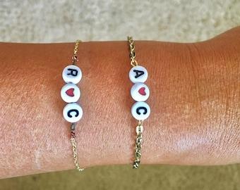 Grown-up Twist on Kid's Classic Charm Bracelets