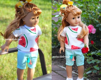 Doll clothes for 18 inch dolls, fits like American Girl Dolls .