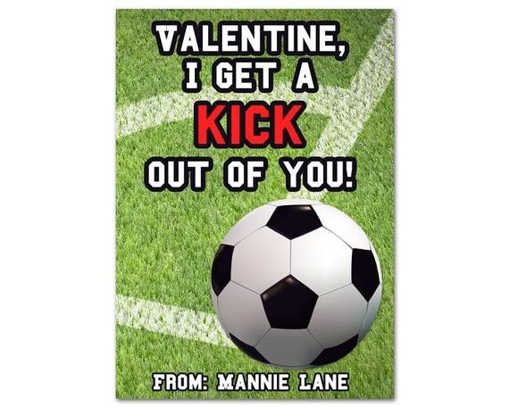 Like This Item   Football Valentine Cards