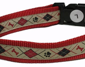 Dog Collar, Argyle
