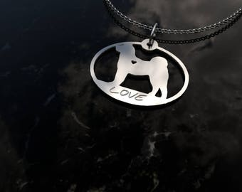 Akita necklace - Akita gift - Akita charm