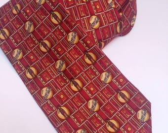 Vintage Coca Cola silk tie
