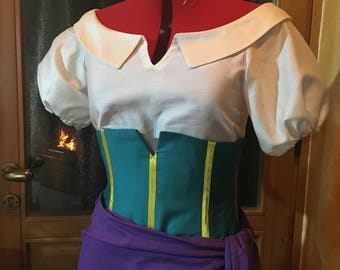 Esmeralda the hunchback of notre dame costume cosplay