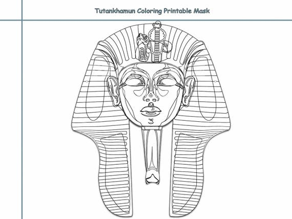 Funky Pharaoh Headdress Template Frieze - Resume Ideas - namanasa.com