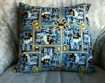 Batman pillow cover