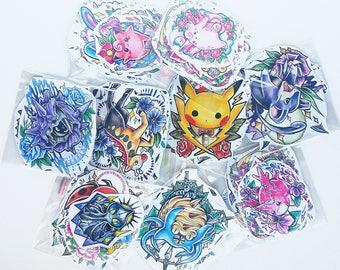 Pokemon Sticker Blind Random pack