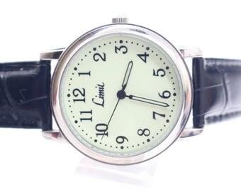 Limit Fluorescent face Mens Wrist Watch