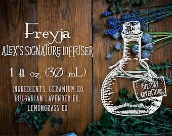 Freyja (Alex's signature diffuser)