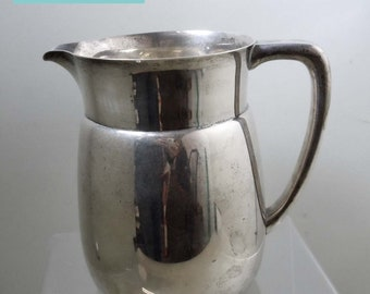 Tiffany & Co Makers Sterling Silver 22312 M 3.5 Pint Water Pitcher 1949 Dedication
