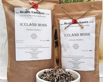 Iceland Moss (Cetraria islandica) - Health Embassy - Organic