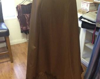 Victorian/Edwardian A-line Skirt