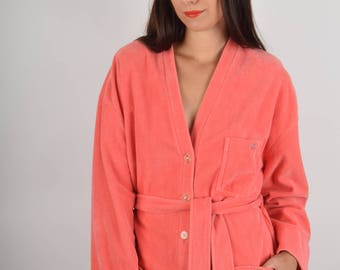 RARE Sonia Rykiel Fluffy Kimono Made in France XL (844)