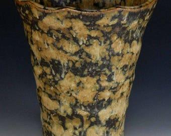 Vase, Wheel-Thrown, Carved