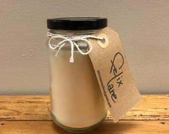 LAVENDER & VANILLA SCENT ~ Medium Jar Candle