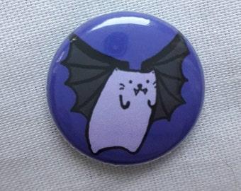Vampire Cat Badge