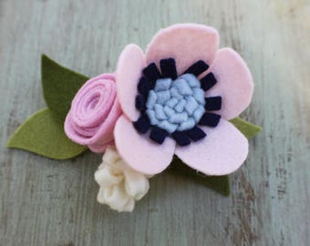 Blossom felt Flower Crown