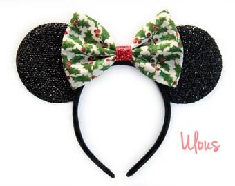 Christmas Mickey Ears Minnie Xmas Disney
