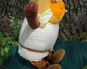 McAcy. FrankenFuzzie, Soft Sculpture, Stuffed Animal, Toy