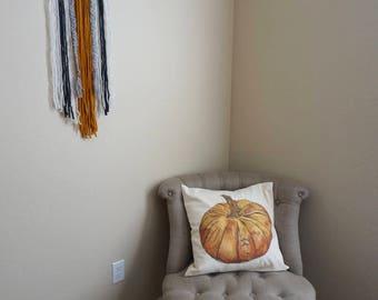Modern Yarn Wall Hanging - Boho Decor - Wall Hanging - Wall Art - Fall Decor