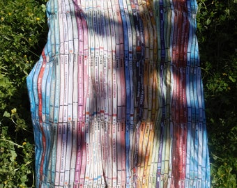 Vintage 1990 Paul Smith printed multicolored cotton Cds EU 34 US 2 UK 6 pockets dress