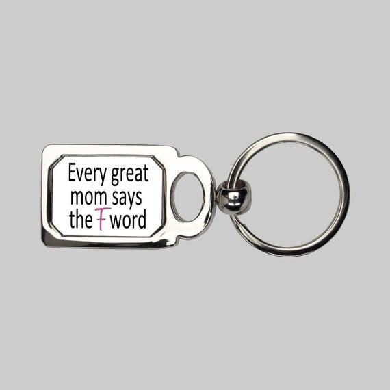 Great mom keychain