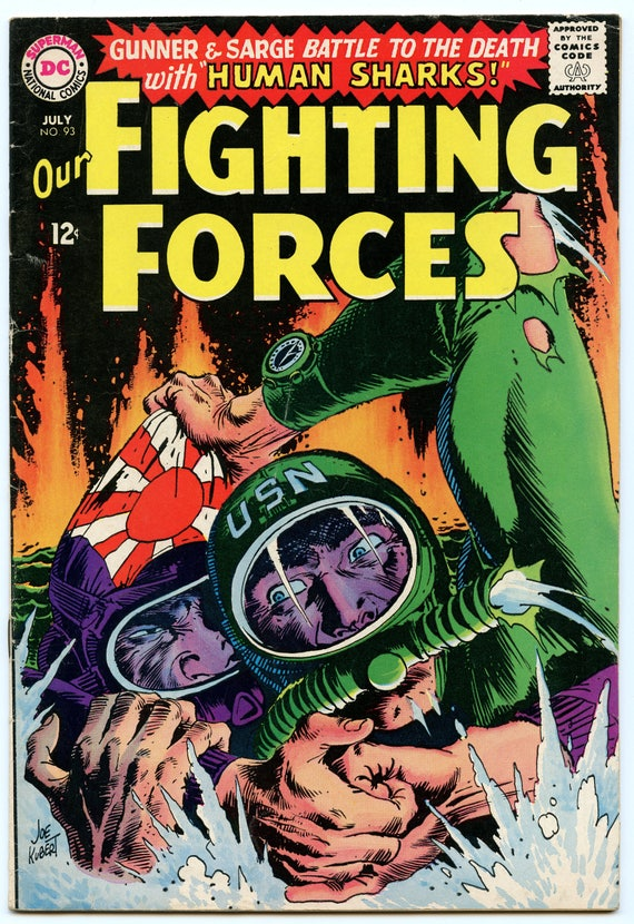 Our Fighting Forces 93 Jul 1965 VG-FI (5.0)