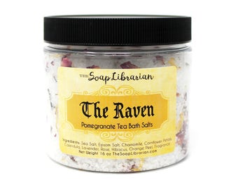 The Raven Bath Salts - Edgar Allan Poe Literary Gift