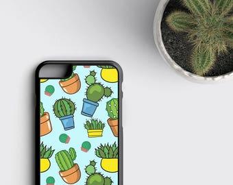 Cactus Phone Case, Cactus iPhone 6S Case - iPhone SE Case Cactus, Cactus iPhone 6 Plus, iPhone 6 Case, Succulent iPhone 6S/6/X/8, Cacti