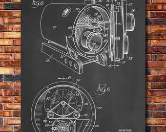 Boiler Patent Print Art 1958