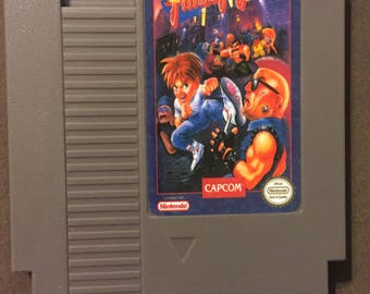 Mighty Final Fight Fan Made Nintendo NES Game Cartridge. 8 bit